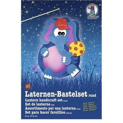 Laternen-Bastelset 30 'Elefant'