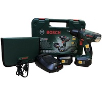 Bosch PSR 18 LI-2 inkl. 2 x 2,0 Ah + 51-tlg. Zubehör-Set (060397330F)