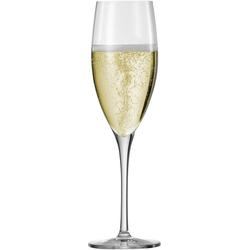 Eisch Champagnerglas Superior SensisPlus (4-tlg), bleifreies Kristallglas, 278 ml