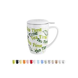 LOVECASA Tasse, Porzellan, Teebecher Kaffeebecher aus Porzellan