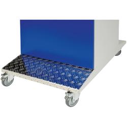 Computerschrank fahrbar 1850 x 550 x 750 mm RAL