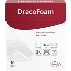 DRACOFOAM Schaumstoff Wundauflage 5x5 cm 10 St