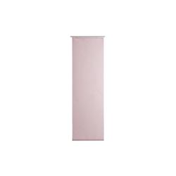 Gözze Schiebevorhang Valegro in altrosa, 60 x 245 cm