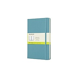Moleskine Reef Blue Notebook Large Plain Hard. Moleskine  - Buch