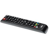 vhbw Fernbedienung (passend für Samsung HT-J4550, HT-J5500, HT-J5500W/ZA, HT-J5550W, HT-JM41 DVD-Player) schwarz