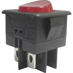 SCI Wippschalter R13-104B-01 250 V/AC 10A 1 x Aus/Ein rastend