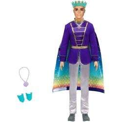 Barbie Anziehpuppe Dreamtopia, 2-in-1 Prinz & Meermann