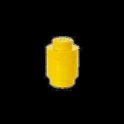 LEGO® Aufbewahrungsstein rund mit 1 Noppe in Gelb