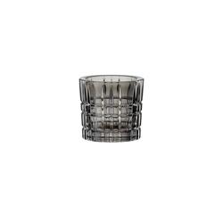 Nachtmann Kerzenhalter Square Teelichthalter smoke grau