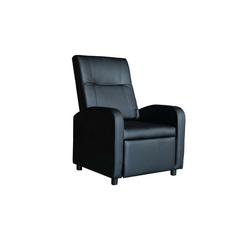 HTI-Line TV-Sessel Fernsehsessel Alvaro, Fernsehsessel schwarz