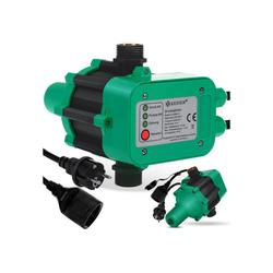 KESSER Wasserpumpe, Druckschalter Druckwächter Pumpensteuerung Gartenbewässerung mit Kabel grün