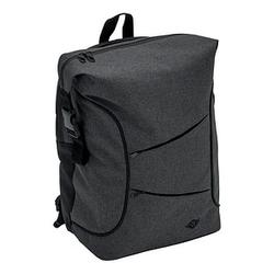 WEDO Laptop-Rucksack Courier Kunstfaser grau