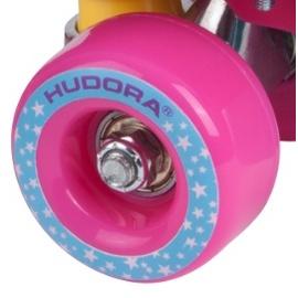HUDORA Rollschuhe Roller Skate Wonders Gr 35-40 pink-blau Rollschuhsport