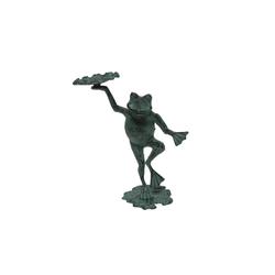 HTI-Line Dekofigur Dekofigur Frosch (1 Stück), Gartendeko