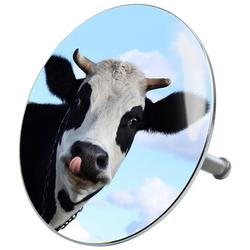SANILO Stöpsel Kuh, für Badewannen und Duschen, Ø 7,2 cm bunt