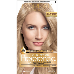 L'Oreal Paris Superior Preference Fade-Defying Color + Shine System - 8.5A Champagne Blonde - 1 Kit