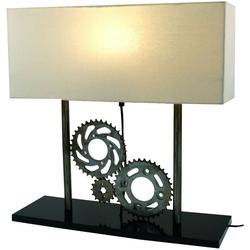 Guru-Shop Tischleuchte Tischlampe, Industrial Style, Upcycling..