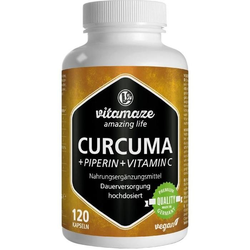 Curcuma + Piperin + Vitamin C