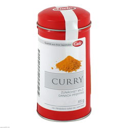 Curry Pulver Blechdose Caelo HV-Packung 65 g
