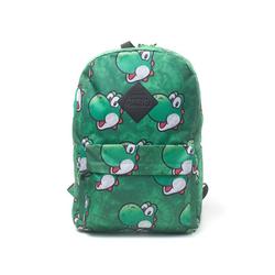 Nintendo Freizeitrucksack Nintendo - Yoshi Face Sublimation Print Backpack RUCKSACK Neu Top