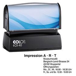 COLOP Textstempel, individualisierbar EOS 40