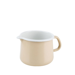 Riess Milchtopf Riess Schnabeltopf Emaille 12cm,1L, Emaille