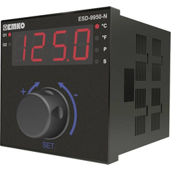 Emko ESD-9950-N.2.20.0.1/02.00/0.0.0.0 Temperaturregler Pt100, S, R, K, J (L x B x H) 110 x 96 x 96m