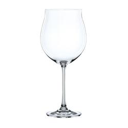 Nachtmann Gläser-Set Vivendi Burgunder Pokal 4er Set, Kristallglas