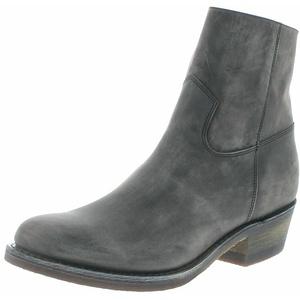 Sendra Boots 4984 Lazo Grafit Herren Cowboy Stiefelette Lederstiefelette Grau