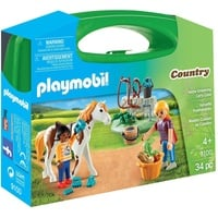 Playmobil Country Mitnehmkoffer Horse 9100