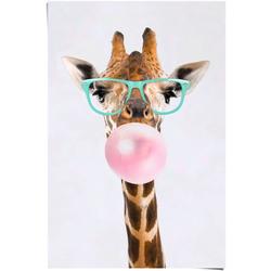 Reinders! Poster Poster Funky Giraffe, Giraffen (1 Stück)