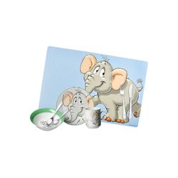 Ritzenhoff & Breker Kindergeschirr-Set HAPPY ZOO Kindergeschirr Set Elefant 8-teilig (8-tlg), Edelstahl