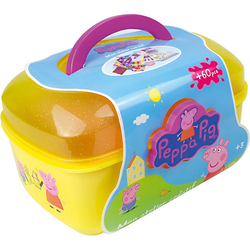 Malkoffer Peppa Pig, 60-tlg. gelb