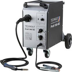 TECHNOLIT Profi 195-SD Schweißgerät, Set mit Schlauchpaket, Masse, Druckminderer