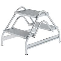 Günzburger Aluminium-Arbeitspodest 2 x 2 Stufen (50059)