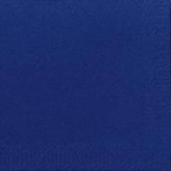 DUNI Servietten, 40 x 40 cm, 3-lagig, 1/4 Falz, 1 Karton = 4 x 250 Stück = 1.000 Stück, dunkelblau
