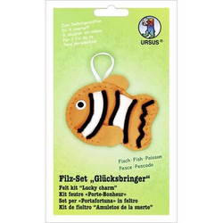 Filz-Set Glücksbringer Fisch