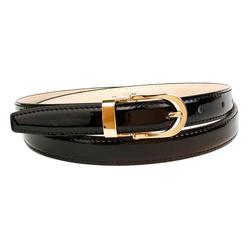 Anthoni Crown Ledergürtel aus Lackleder 105