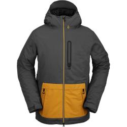 Volcom - Deadlystones Ins Jacket Dark Grey - Skijacken - Größe: M
