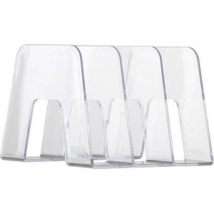 HAN SORTER 16200-23 Stehsammler DIN A4, DIN C4 Transparent, Glasklar Polystyrol 1St.