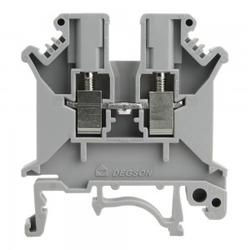 Reihenklemme 2.5mm2 Schraubklemme Grau VDE UL 3336