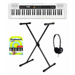 Casio CT-S200 WE Keyboard Starter Set Weiß