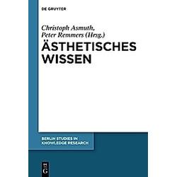 Ästhetisches Wissen - Buch
