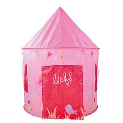 lief! - Zelt rund Mädchen rosa  Kinder