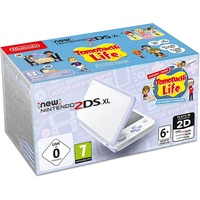 Nintendo New Nintendo 2DS XL weiß / lavendel + Tomodachi Life (Bundle)