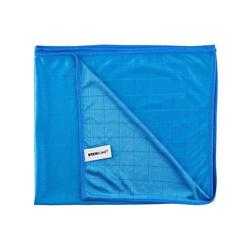 Kochblume Geschirrtuch Poliertuch 50 x 60 cm, 280g/qm Qualität blau