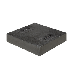 Doppler Design Granitplatten 2er Set,anthrazit,2 x 55 kg