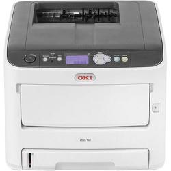 OKI C612dn Farb LED Drucker A4 36 S./min 34 S./min 1200 x 600 dpi LAN, Duplex