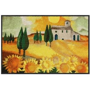 Fußmatte Rosina Wachtmeister Nuovo Girasole Salonloewe Fußmatte waschbar 50 x 75 cm, Salonloewe