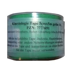 KINESIOLOGIE Tape 5 cmx5 m grün 1 St